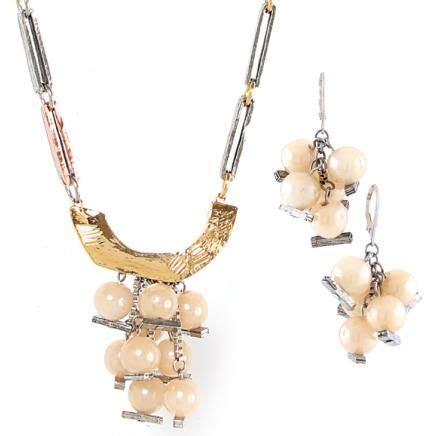 Adenia Necklace collier necklace galvia 02 c boucles d oreilles