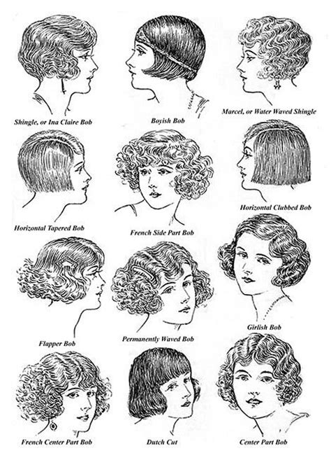 what were womens hairstyles in the 1920s 20s hair styles dieselpunk 20 s 40 s pinterest