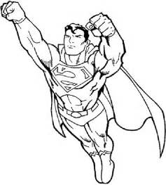 free coloring pages boys superman printable kids