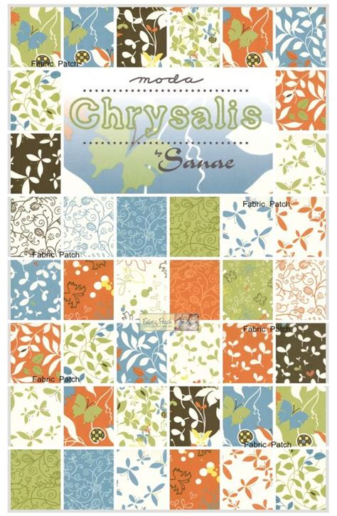 Moda Layer Cake Quilt Patterns by Chrysalis Layer Cake Patchwork Quilting Fabric 43 00 Fabric Patch Patchwork Quilting