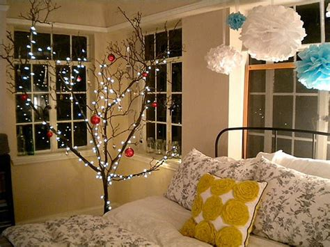 christmas tree in the bedroom pictures photos and images