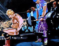 dino bravo bench press wrestling art on pinterest watercolor paper wwe and cm punk
