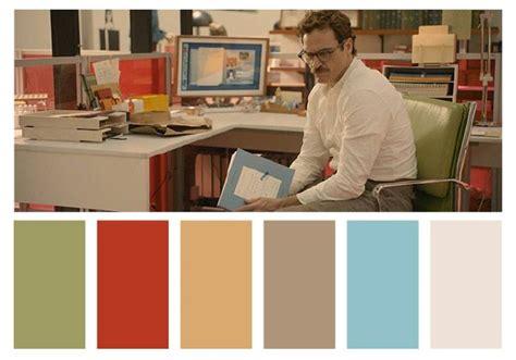 color themes in film her scifi movie colour palette colours pinterest wes