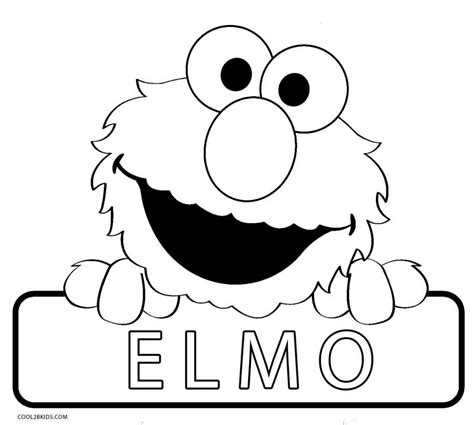 Printable Elmo Coloring Pages For Kids Cool2bkids Elmo Coloring Pages
