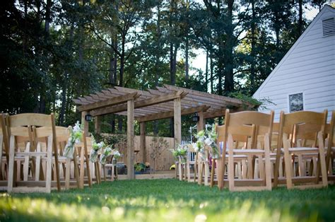 Backyard Country Wedding Ideas Virginia Backyard Rustic Chic Wedding Rustic Wedding Chic