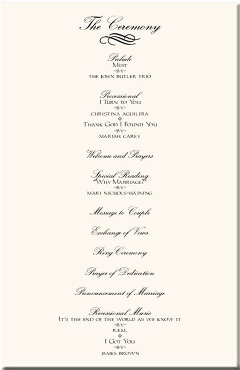 programs for wedding ceremony template wedding ceremony programs wedding programs wedding