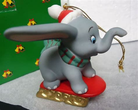 dumbo disney elephant grolier porcelain treasures ornament