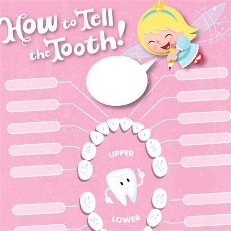 Tooth Fairy Printables: Lost Tooth Chart   Hallmark Ideas