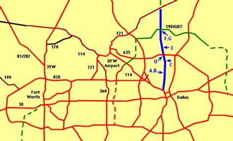 texas tollway map texasfreeway gt dallas fort worth gt photo gallery gt dallas tollway