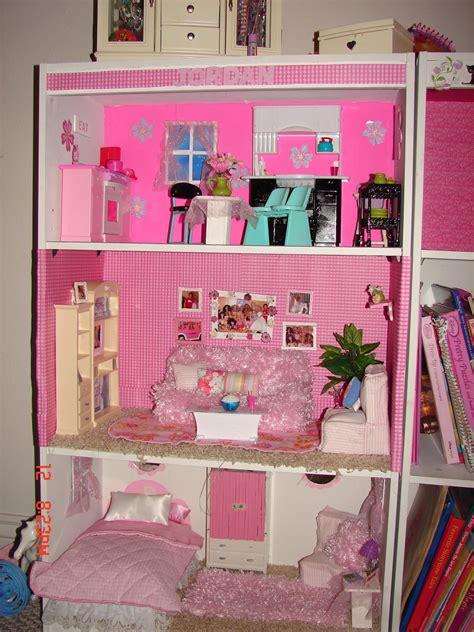 doll house themes analysis diy barbie house from a shelf a girl and a glue gun