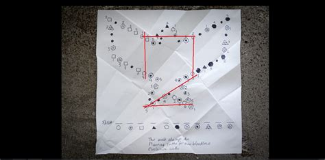 Infamous Second Origami - paper trail 5 help
