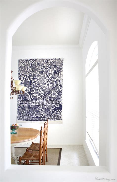 Rug On The Wall by Dining Room House Mix
