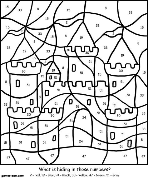 number coloring pages games color by number online game timeless miracle com