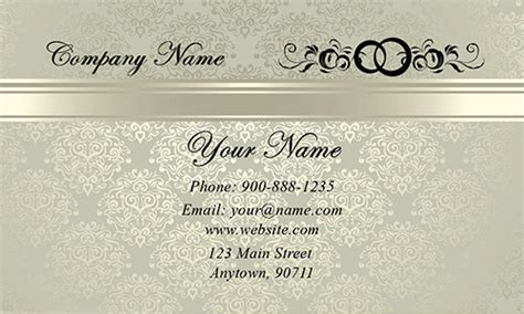Wedding Business Cards Templates Free by Gradient Wedding Planner Business Card Design 701031