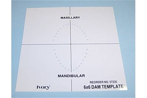 dental dam sts templates alpha dental supplies