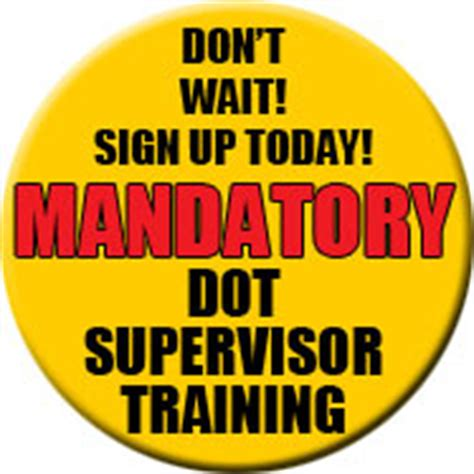 section 49 cfr part 382 603 dot supervisor drug alcohol training compliance educators