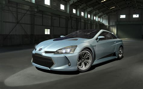 toyota coupe toyota prius sports coupe front three quarters photo 1