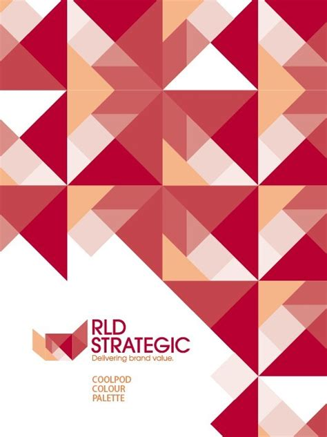 free backdrop design ai free red abstract triangles background vector titanui