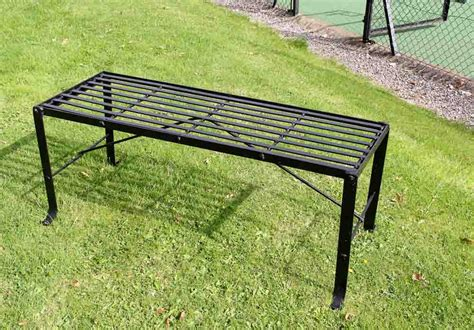 wrought iron backless bench wrought iron backless bench 28 images regency park