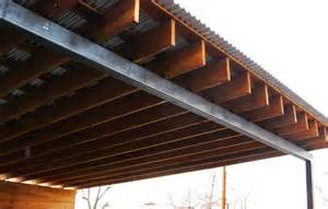 Bathroom Remodeling Idea Wood Steel Carport Modern Garage Albuquerque By