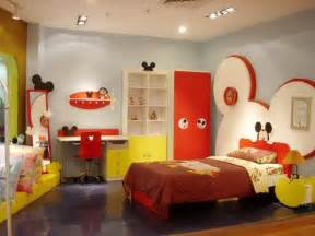 kids theme bedrooms mickey mouse themed kids room designs and furniture