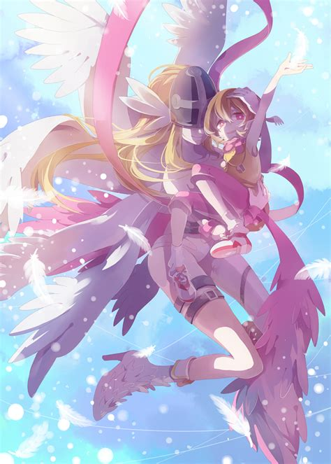 anime net angewomon digimon adventure zerochan anime image board