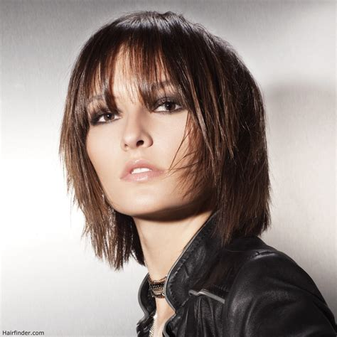 layered neck length bob hairstyles image gallery neck length layered hairstyles