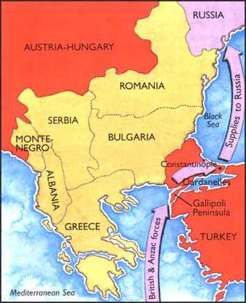 battle of gallipoli map air effort gallipoli
