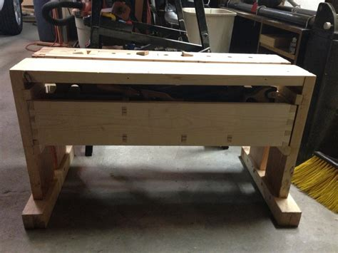 split top saw bench split top saw bench with wedge powered wagon vice and