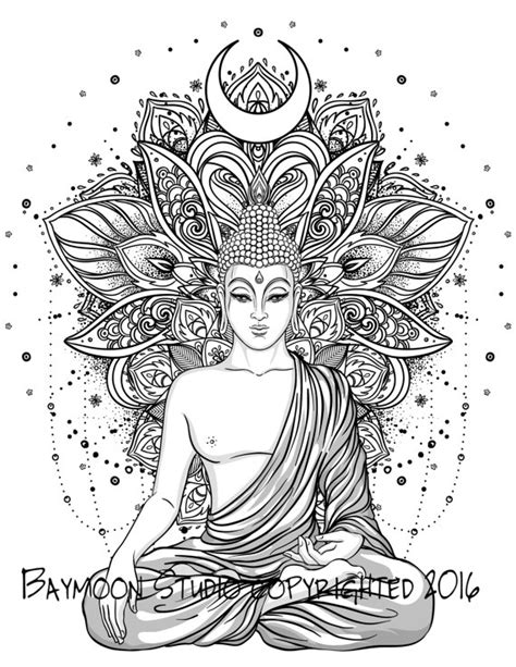 coloring pages for adults buddhist hindu lotus temple adult coloring pages zentangles