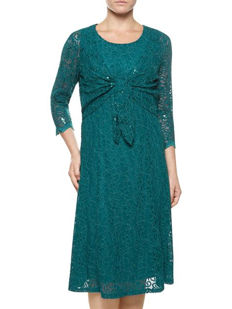 dress guess 2in1 lyst eastex lace 2 in 1 dress in blue