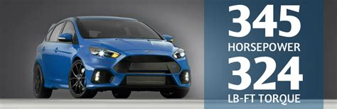 2016 focus rs horsepower ford announces horsepower and torque ratings of focus rs