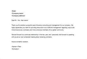 sle business thank you letter 10 free sle