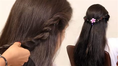 wedding hairstyles down youtube easy prom ponytail hairstyle for bride in wedding fancy