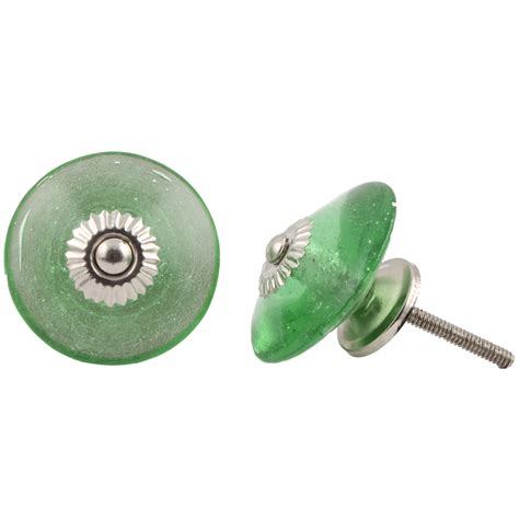 Green Knobs by Green Wheel Glass Knob Home Decor Direct Australia
