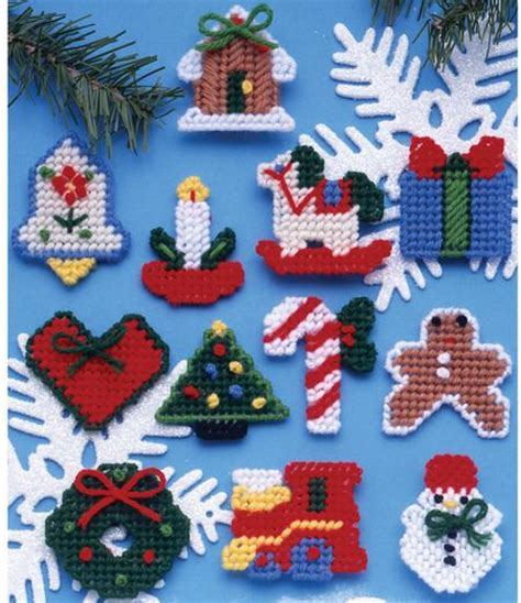 southwest christmas ornaments plastic canvas design works country ornaments plastic canvas kit 1221 123stitch