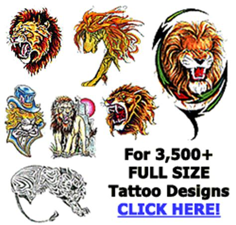 cartoon lion tattoo designs lion tattoos tattoo designs ideas meaning