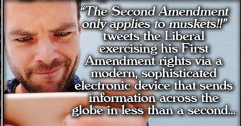 2nd Amendment Meme - why leftists beliefs on second amendment are nonsense