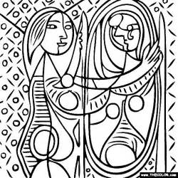 picasso coloring pages 100 free coloring page of pablo picasso painting