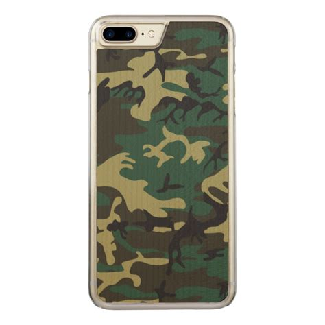 Army Iphone 7 Plus camouflage carved iphone 7 plus plus