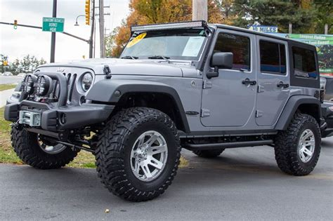 Customised Jeeps For Sale Jeep Wrangler Jk Unlimited Custom Builds For Sale At