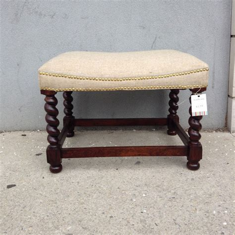 small padded bench small bench with upholstered seat nadeau austin