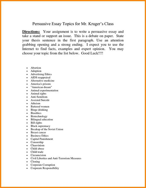 Persuasive Essay Topics On Education by 9 Persuasive Essay Topics Education Address Exle