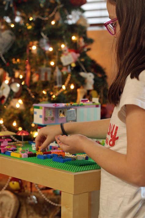 how to build a lego table diy on a dime build a lego table