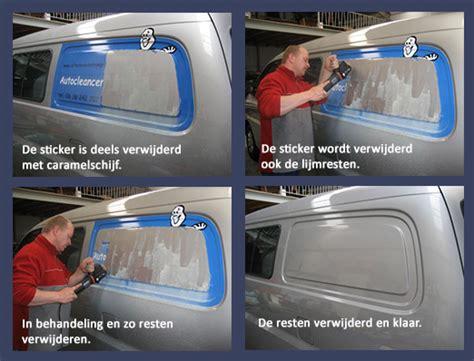 Auto Sticker Verwijderen by Autocleancentrum Prins Stickers Verwijderen