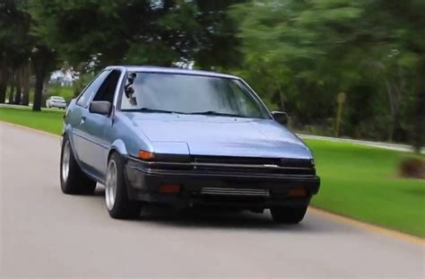 Toyota Honda by Toyota Ae86 Gets Honda S2000 F22c Turbo Engine