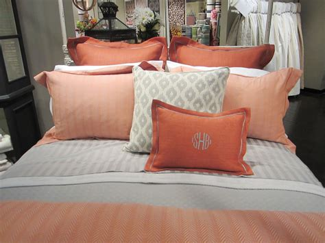 coral and grey bedroom thee color for summer bumble brea s design diary