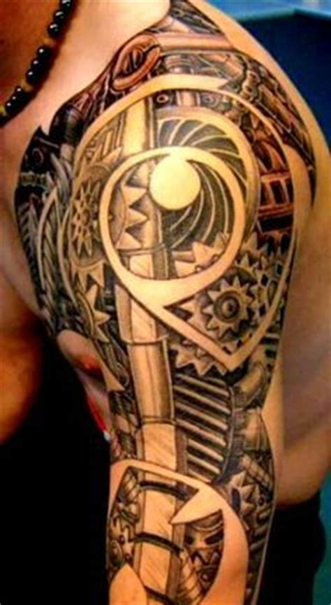 mechanical shoulder tattoo on pinterest muscle anatomy