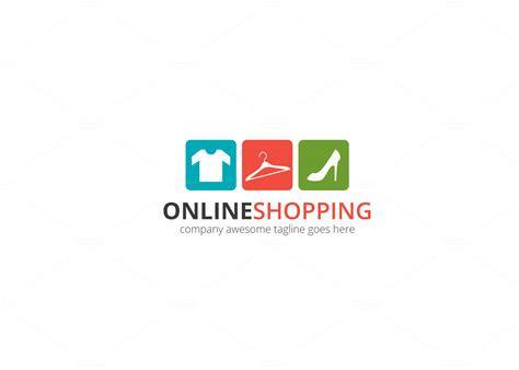 shopping logo logo templates  creative market