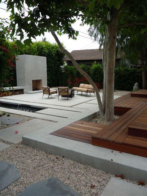 hancock park garden w/fireplace & water feature   KFL's